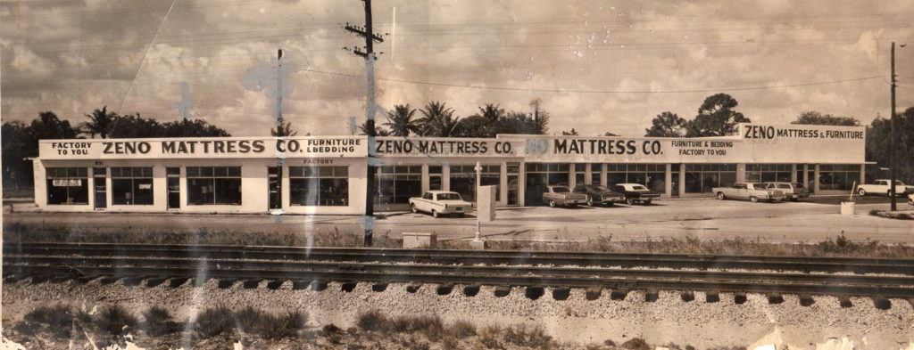 Image of Zeno Mattress factory in fort Lauderdale